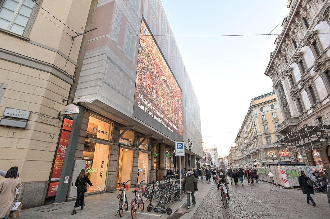 Milano, Via Dante